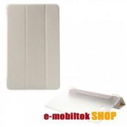 Műanyag tok, SAMSUNG SM-T560 Galaxy Tab E 9.6, Fehér