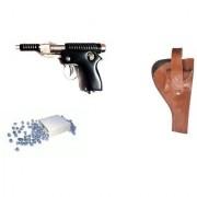Prijam Air Gun Bt-007 Model With Metal Body For Target Practice 100 Pellets Free