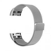 Fém okosóra szíj - EZÜST - Fitbit Charge 2