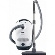 Aspirator cu sac Miele Classic C1 Parquet PowerLine - SBAF3, 800 W, 4.5 L, 79 dB, Alb