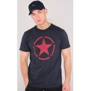 Alpha Industries Star T T-Shirt Blå L