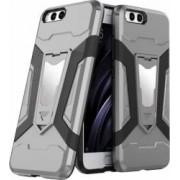 Husa antisoc cu stand metalic pentru suport magnetic Xiaomi Mi 6 Gri