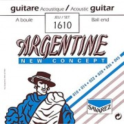 Savarez 1610 Argentine Acoustic Jazz Guitar Strings Standard Tension Ball End
