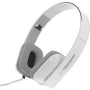 Casti Esperanza EH143W, alb, model dreptunghiular, cablu 3m, mufa jack tata 3.5mm, fara microfon