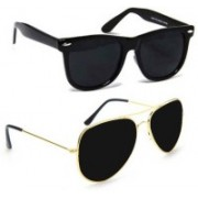 Aoking Wayfarer, Aviator Sunglasses(For Boys & Girls)