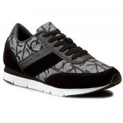 Calvin Klein Sneakersy CALVIN KLEIN JEANS - Tea RE9644 Silver/Bla