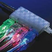 ROLINE 11.99.8904 :: USB 2.0 Light кабел, зелен цвят, 1.8 м, тип A - B