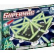 Set constructie Supermag Classic Glow 98 piese