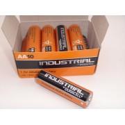 Duracell industrial LR6 AA baterii alcaline 1.5V cutie 10 bucati