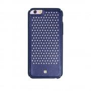 Carcasa iPhone 6/6S Just Must Carve III Navy (protectie margine 360�)