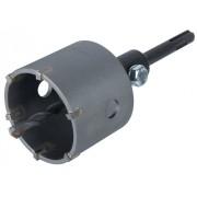 Wolfcraft 5483000 Keményfém betétes körkivágó/koronafúró, 68 mm, SDS-Plus befogással