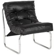 Zwarte loungezetel 'LOFT'