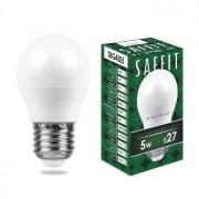 Лампа светодиодная Saffit SBG4505 G45 5W E27 2700K 55025