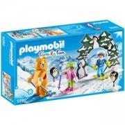 Комплект Плеймобил 9282 - Ски урок, Playmobil, 2900328