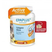 Epaplus Colágeno, silicio, hialurónico, magnesio en polvo sabor vainilla 326g (Nueva Fórmula)