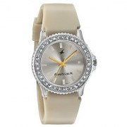 Fastrack Analog Beige Dial Womens Watch-9827Pp15J