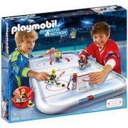 Комплект Плеймобил 5594 - Арена за хокей - Playmobil, 291145