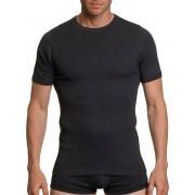Kumpf Rundhalsshirt, Halbarm, Farbe schwarz, Gr.5
