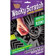Scratch Art Wacky Scratch Poppin Patterns Activity Kit