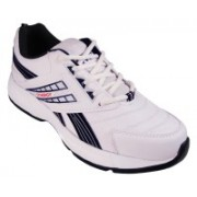 Action White Blue Sport running Shoe -7106 Walking Shoes For Men(White)
