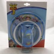 Toy Story étkészlet - műanyag