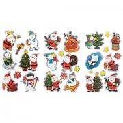 """3D-Sticker """"Weihnachten"""", 3 Blatt"""
