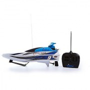 Super Sonic Blue Remote Control Powered Multi Directional Electric Motor Boat Extreme Power Edition by Dimple