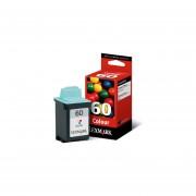 Cartucho De Tinta 60 Lexmark 17G0060 Rendimiento Estandar 100% Nuevo Y Original De Color-Tricolor