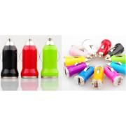 James Zhou USB Laddare till bilen i massa olika färger! (Rosa)