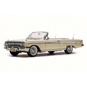 1961 Chevy Impala Convertible, Almond Beige - Sun Star 3408 - 1/18 Scale Diecast Model Toy Car