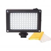 Ulanzi96 LED Panel Video Light Photo Licht Vullen op Camera Video Hotshoe LED Lamp Verlichting voor Camera Camcorder DSLR