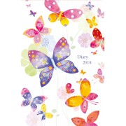 Zsebnaptár 2018 - Santoro - Butterfly Cloud