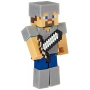 Minecraft Steve with Iron Armor Series 4 Action Figure