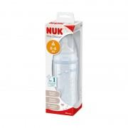 NUK First Choice+Műanyag cumisüveg 300ml, szilikon etetőcumival