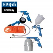 Комплект пневматични накрайници Scheppach 5 бр.