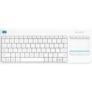 Logitech Wireless Touch Keyboard K400 Plus - Toetsenbord - draadloos - 2.4 GHz - VS internationaal - wit
