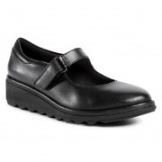 Ниски обувки CLARKS - Sharon Shore 261528324 Black Leather
