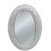 Art.1138 Sspecchiera argento ovale 90x65