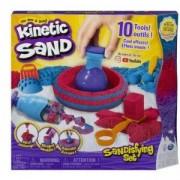 Комплект за моделиране с пясък, с аксесоари, Kinetic Sand, 025511
