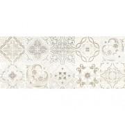 Decor faianta Streams white patchwork lucioasa 25x60 cm