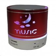 Bluetooth Led világító hangszóró Mp3,Rádió,USB, TF/micro SD kártya,3,5 jack,telefon kihangosítás - Music felhő kicsi
