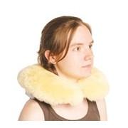 Almofada anti-escaras em lã natural de viagem para cervical 1unid - Naturlamb