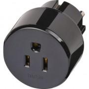 Accesoriu audio-video brennenstuhl Adaptor de calatorie Statele Unite ale Americii / Japonia (1415600000)