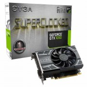 VGA EVGA GTX 1050 SC GAMING, nVidia GeForce GTX 1050, 2GB 128-bit GDDR5, do 1531MHz, DP, DVI-D, HDMI, 36mj (02G-P4-6152-KR)