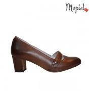 Pantofi dama din piele naturala 24701/Maro/Rona