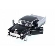 Motor Max 1955 Chevy Bel Air Hard Top, Black - 73229AC/BK 1/24 Scale Diecast Model Toy Car