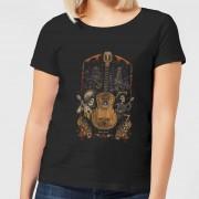 Disney Coco Guitar Poster Dames T-shirt - Zwart - 5XL - Zwart