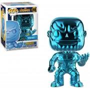Funko Pop Thanos Chrome Azul Gema Exclusivo Avengers Infinity War