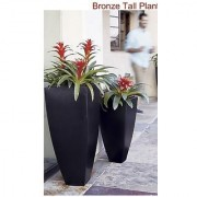 The New Look Planter set of 2 Length 20 inches BLACK