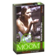 Moom Express Pre Waxed Strips For Face & Bikini, 20 Strip Boxes (Pack of 2)